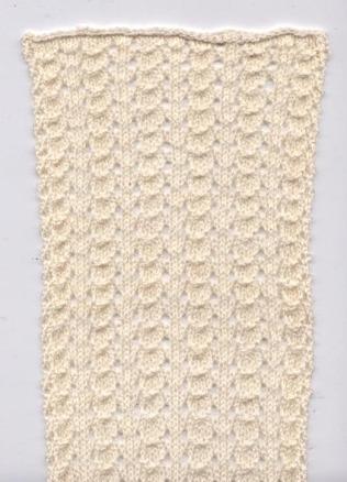 ButterClamScarf-lacepattern